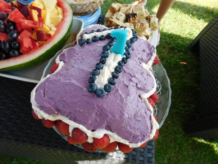 Zdrowy tort na roczek