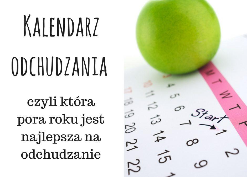 Kalendarz odchudzania – czyli która pora roku jest najlepsza na odchudzanie.